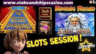 • ONLINE SLOTS SESSION • CASINO BONUS ROUNDS & WINS !!