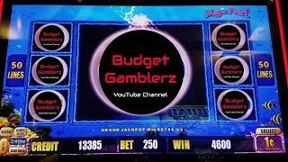 WORLD OF WONKA / LIGHTNING LINK Free Spin Bonus Big Win!!  Live Slot Play @ San Manuel Casino