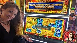 ONLY Handpay JACKPOT on Solar Disc Slot Machine on YouTube!