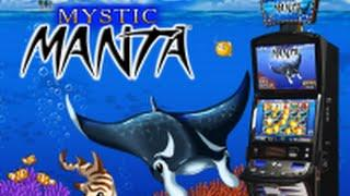 MYSTIC MANTA ** BONUS!! **  ATRONIC SLOT MACHINE