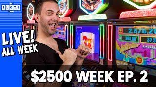 • TUE LIVE •️ Ep. 2 • $2500 @ San Manuel Casino • BCSlots (S. 13 • Ep. 2)
