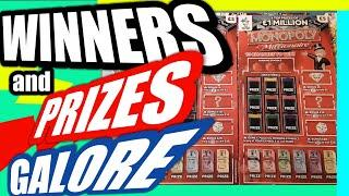•Fantastic Scratchcard Game.Winners Everywhere•Monopoly Millionaire.&Prize•Give away for Viewers•