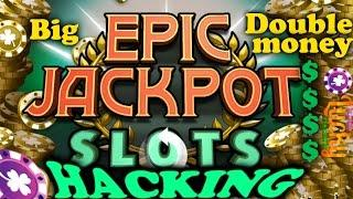 Epic Jackpot Slots double big money hacking  (Android / Gameplay)