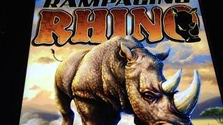 NEW Rampaging Rhino Slot Bonus - Ainswinth
