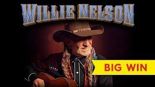 Willie Nelson Slot - BIG WIN, MANY FEATURES!