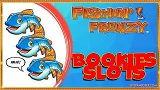 Will Fishin' Frenzy FINALLY PAY?? Bookies Slots Session