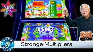⋆ Slots ⋆️ New - 5 Tikis Slot Machine with Unusual Multipliers
