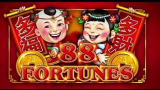 * 88 Fortunes * Max bet - Live play and Bonuses