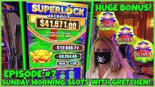 ★ Slots ★SUPERLOCK Lock It Link FLOWER FORTUNE Slot Machine ★ Slots ★SUNDAY MORNING SLOTS WITH GRETC