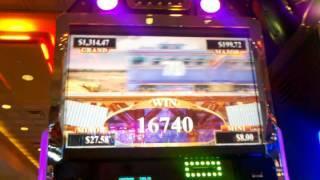 Aristocrat  Buffalo Gold Cash Express Big Win Tons of Trains Slot Teacher