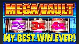 I GOT A HUGE WIN ON MEGA VAULT ON MY VERY FIRST SPIN • LOTS MORE SLOT MACHINE WINS!