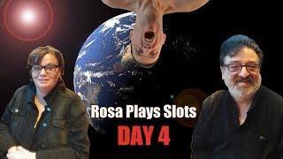• Rosa Plays Slots - Day 4 - Rosa Elliiott - Rob - The Shamus of Slots - $120 •