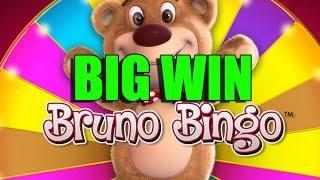 BIG WIN 4 euro bet - Bruno Bingo HUGE WIN double wild