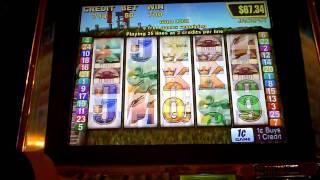 Golden Gong Slot Machine Bonus Win