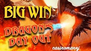 **BIG WIN** - DRAGONS DAY OUT - TWIN FEVER & DRAGON OF THE EASTERN OCEAN SLOT - Slot Machine Bonus
