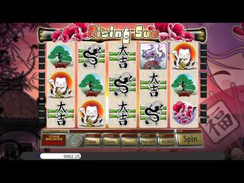 Free Rising Sun slot machine by Saucify gameplay ★ SlotsUp