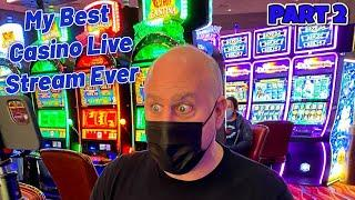 ⋆ Slots ⋆ My Best Live High Limit Slot Stream Ever! ⋆ Slots ⋆ Huge Jackpots at Choctaw Casino in Durant, OK - Part 2