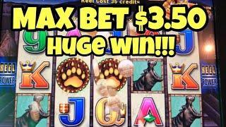 ***WILD WAYS HUGE WIN*** MAX BET $3.50 RARE Big Win Bonus Repeat After Couple Games. Fail MEGA VAULT