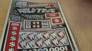 ᐅ NEW GAME! $300,000 25TH ANNIVERSARY WILD TIME $5 MICHIGAN LOTTERY