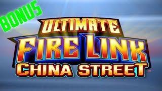 ULTIMATE FIRE LINK CHINA STREET SLOT MACHINE