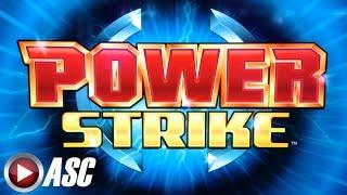 *BIG WIN!* POWER STRIKE (DRAGON WONDER)   BALLY -  MAX BET Bullseye Slot Machine Bonus