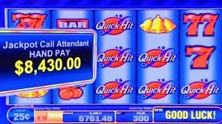 MAX BET HIGH LIMIT JACKPOTS! ★ Slots ★ QUICK HIT FEVER WILD RED ★ Slots ★ MOST HANDPAYS IN 1 SESSION