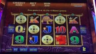 5 Dragons Deluxe Slot Machine, Mystery Choice Bonus With Retrigger