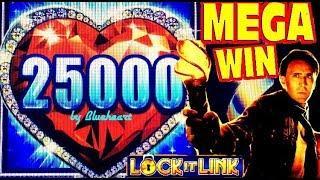 • FINALLY! • LOCK IT LINK slot machine max bet BONUS BIG WINS!