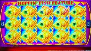 #G2E2016 Konami   NEW Hoppin' Fish slot machine