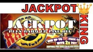 Rawhide Jackpot ** HANDPAY **  plus warm up hit!!!