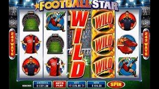 Football Star Online Slot from Microgaming with Free Spins and Stacked Wilds