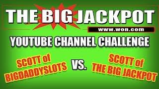 *YOUTUBE CHANNEL CHALLENGE* Scott from BIGDADDYSLOTS takes on The Raja