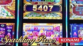 Sparkling Roses Slot Machine from Konami