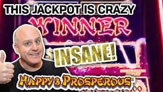 ⋆ Slots ⋆ THIS JACKPOT IS CRAZY ⋆ Slots ⋆ Hard Rock Hollywood HAPPY & PROSPEROUS MASSIVE WIN