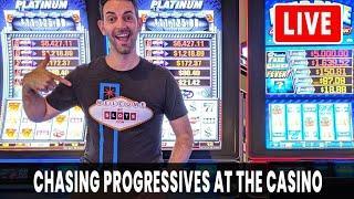 • LIVE • Brian Gives Back! •• Chasing Progressives • BCSlots at San Manuel #AD