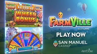 SoCal Exclusive: FarmVille• Slot Game Hits San Manuel Casino