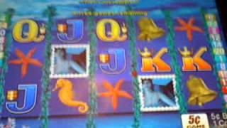 magic mermaid slot machine bonus win