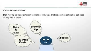 Poker Pitfalls - Episode 9, Lack of Specialization