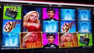 Bloopers Online Video Slot Session 20th May