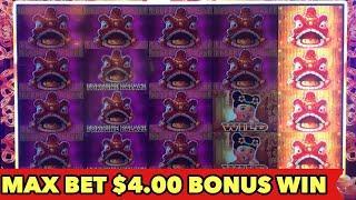 •️MAX BET $4 FORTUNE PALACE•️ BIG WIN BONUS | BETTI THE YETTI SUPER WIN | PHAROAH'S FORTUNE SLOT