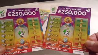 Wow!.WINS Everywhere.. fantastic Scratchcard game NOT TO BE MISSED..WOW!..What a game?
