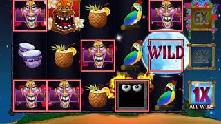 FREAKI TIKI 3 Video Slot Casino Game with a FREAKI TIKI 3 FREE SPIN BONUS 3