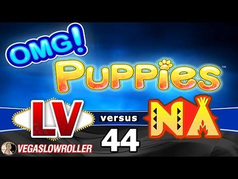 Las Vegas vs Native American Casinos Episode 44: OMG! Puppies Slot Machine