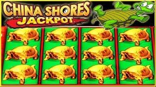 • SUPER BIG WIN JACKPOT • WHO LOVES TURTLES • CHINA SHORES STRIKES AGAIN • HIGH LIMIT SLOT MACHINE