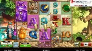 I take on Big Time Gaming's White Rabbit Slot.......