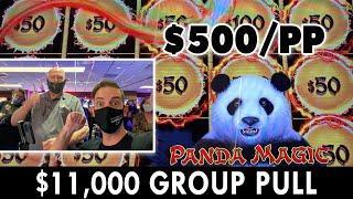 ⋆ Slots ⋆ $500 GROUP SLOT PULL on DRAGON LINK PANDA MAGIC