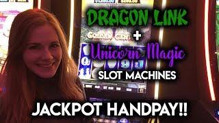 Jackpot Handpay!!! FINALLY caught the DRAGON! Dragon Link Slot Machine!