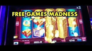 Lock it Link - FREE GAMES collection.  Piggy Bankin and Eureka Slots (includes handpays)