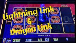 Comeback on Lightning Link and big wins on Dragon Link