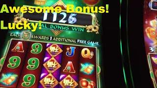 LUCKY on this Bonus!! Making me work for it!!